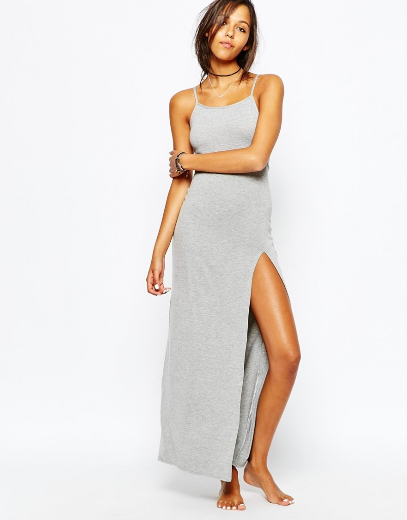 Rokoko Long Slip Dress now £12.00 Click to visit ASOS