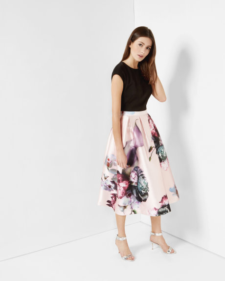 CARSYN Ethereal Posie midi dress     £299 Click to visit Ted Baker