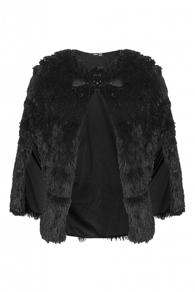 **Marika Fur Cape by TFNC Price: £30.00 Click to visit Topshop