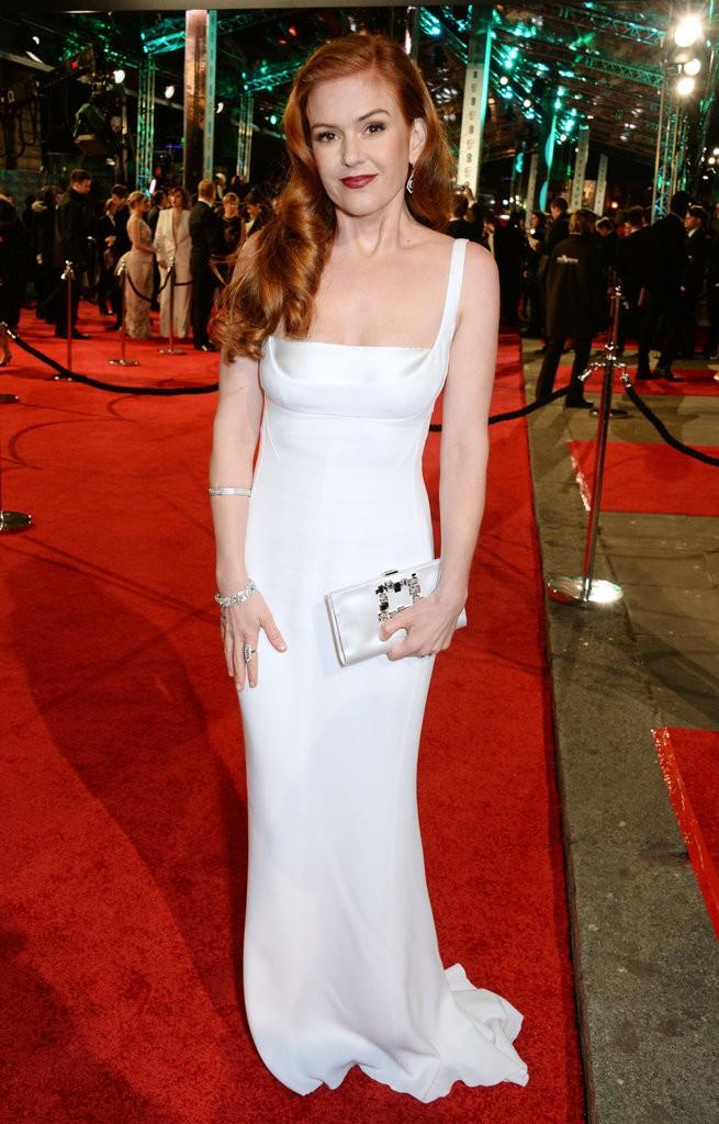 Isla-Fisher-White-Gown-BAFTA-Awards-2016