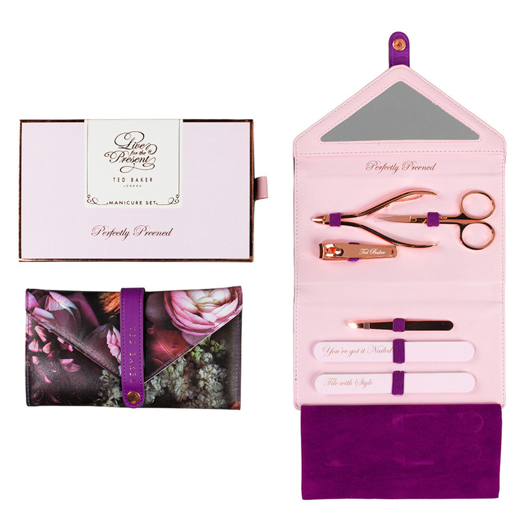 Shadow Flora Manicure Set Ted Baker £35.00 Click to visit Postboxed