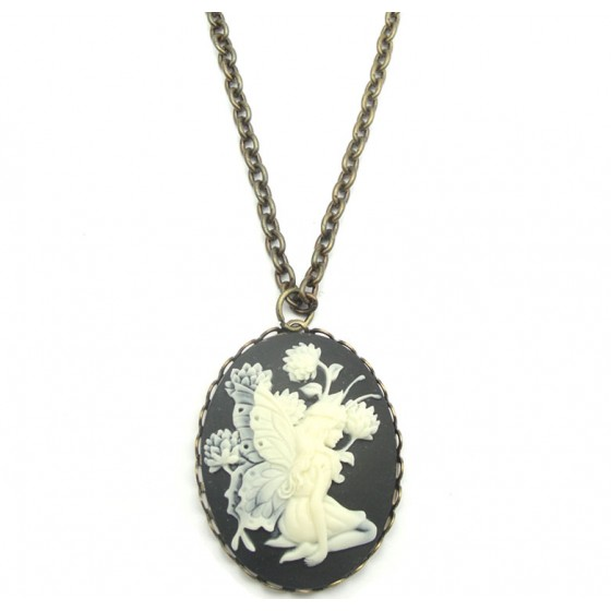 Fairy Cameo Long Chain Pendant £22 Click to visit Zara Taylor London