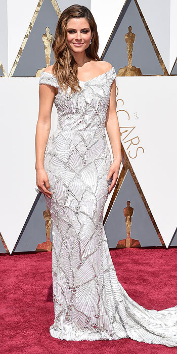 HOLLYWOOD, CA - FEBRUARY 28: TV personality Maria Menounos attends the 88th Annual Academy Awards at Hollywood & Highland Center on February 28, 2016 in Hollywood, California. (Photo by Jason Merritt/Getty Images)