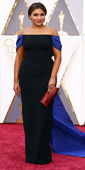 Mandatory Credit: Photo by David Fisher/REX/Shutterstock (5599371k) Mindy Kaling 88th Annual Academy Awards, Arrivals, Los Angeles, America - 28 Feb 2016