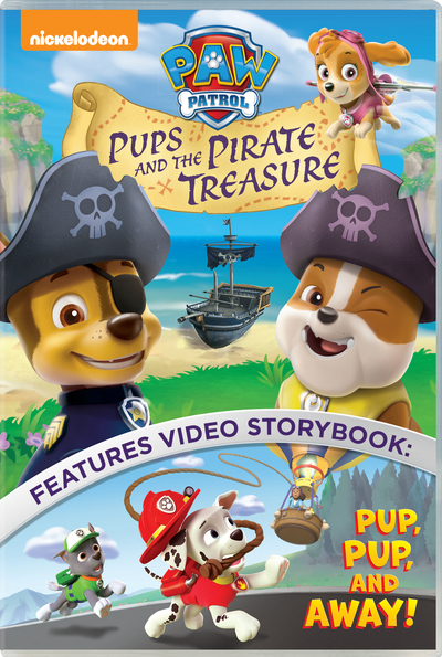 Paw Patrol: Pups and the Pirate Treasure £6.99 Click to visit HMV