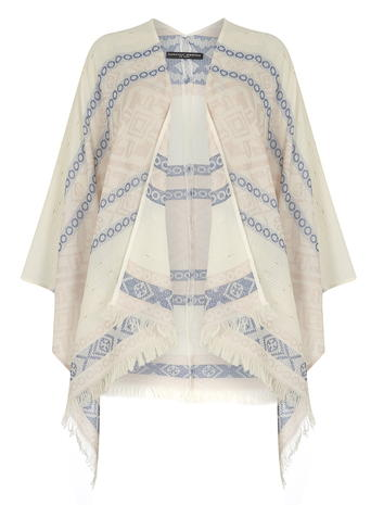 Cream and Pink Cape Price: £20.00 Click to visit Dorothy Perkins