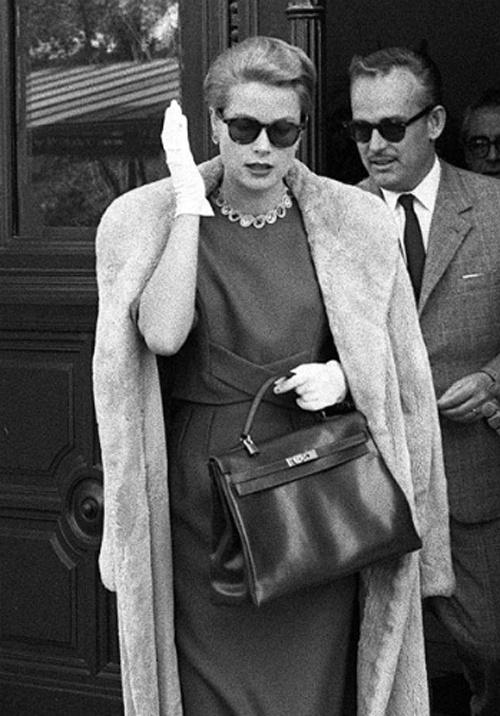 Grace Kelly with Prince Rainier