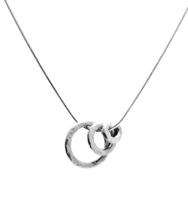 Vanilla Links Triple Link Silver Necklace £98 Click to visit Nude Jewellery