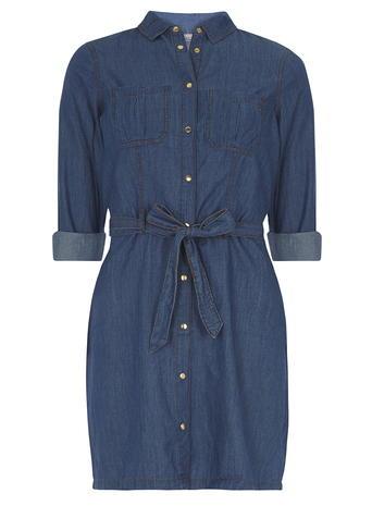 Midwash Denim Shirt Dress Price: £24.00 Click to visit Dorothy Perkins