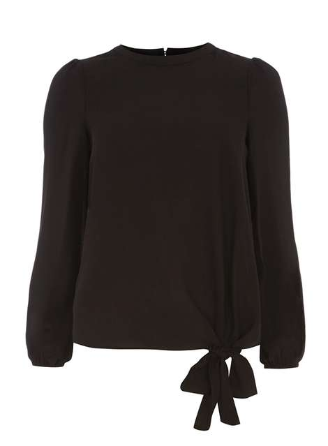 Black Knot Detail Top Price: £20.00 Click to visit Dorothy Perkins