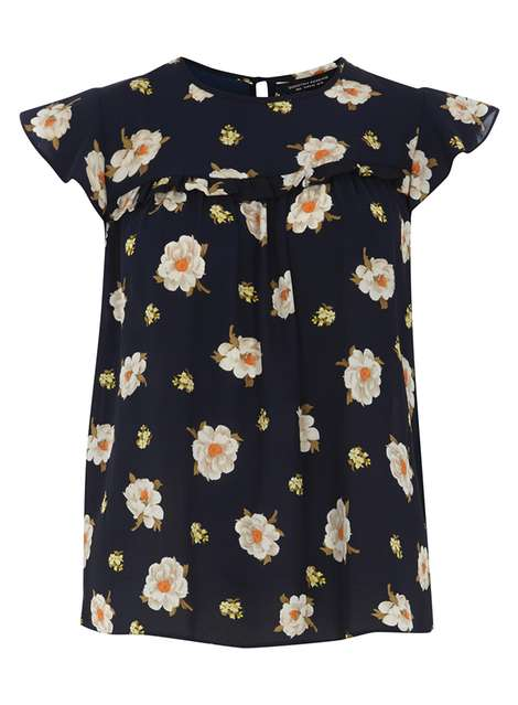 Navy Daisy Soft Tee Price: £22.00 Click to visit Dorothy Perkins