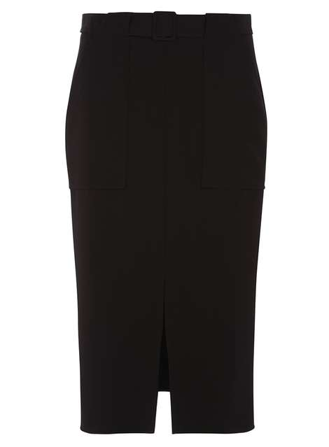 Black Pocket Column Skirt Price: £28.00 Click to visit Dorothy Perkins