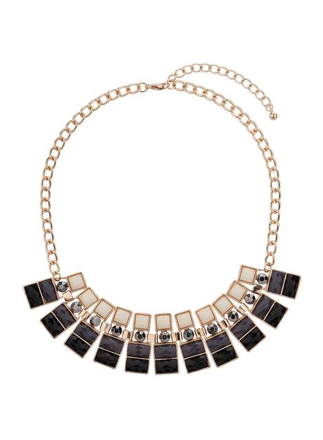Piano Key Necklace Was £14.50 Now £10.87Click to visit Dorothy Perkins
