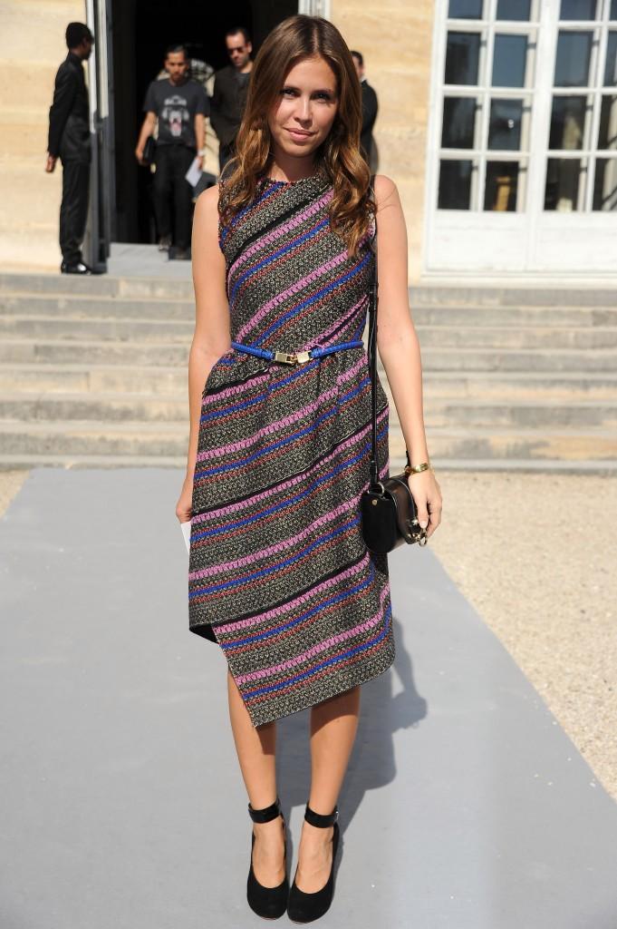 Dasha Zhukova Paris Fashion Week