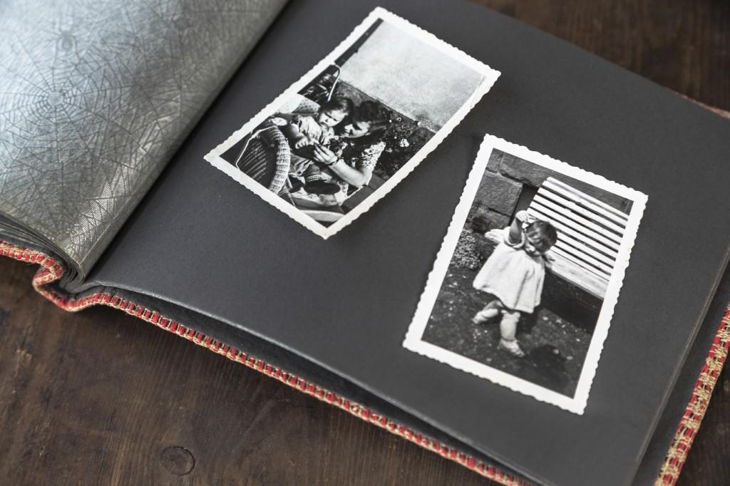 IMAGE - Treasured photo album