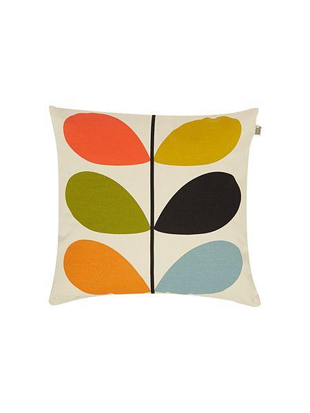 Orla Kiely Multi Stem cushion £35 Click to visit House of Fraser