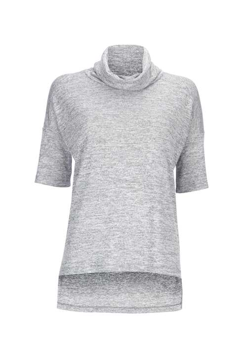 Grey Roll Neck Top Was £25.00 Now £15.00Click to visit Wallis