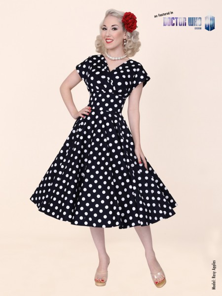 Grace Black White Polkadot £110.00 Click to visit Vivien of Holloway