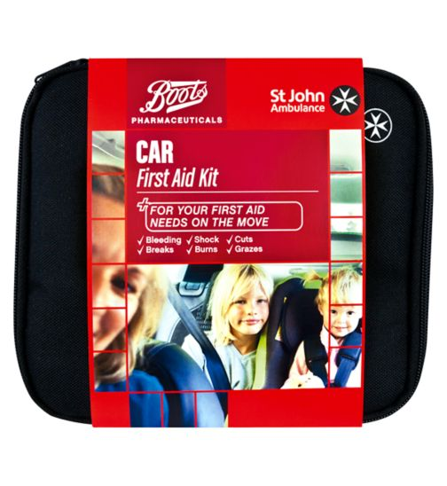 Boots St John Ambulance Car First Aid Kit £17.49 Click to visit Boots