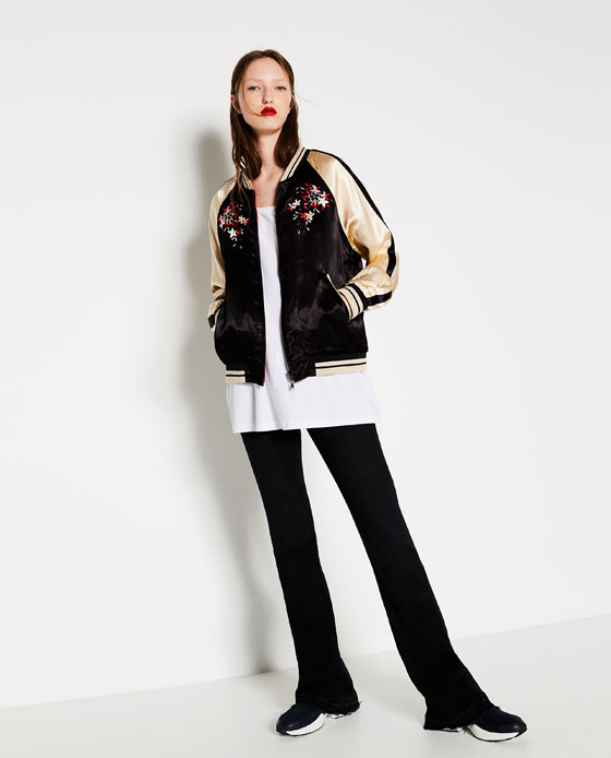 REVERSIBLE EMBROIDERED JACKET Ref. 3440/041 79.99 GBP Click to visit Zara