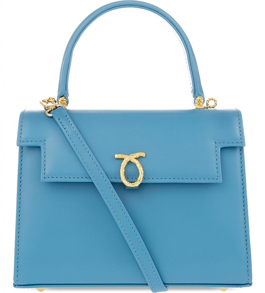 LAUNER Judi leather tote £1,230.00 Click to visit Selfridges