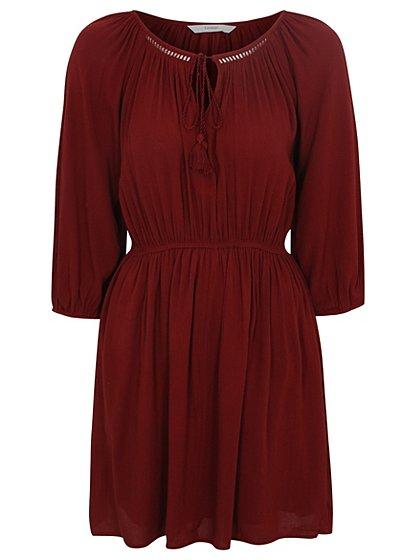 Tie Neck Dress £14 Click to visit Asda George