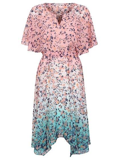 Floral Hanky Hem Dress £18 Click to visit Asda George