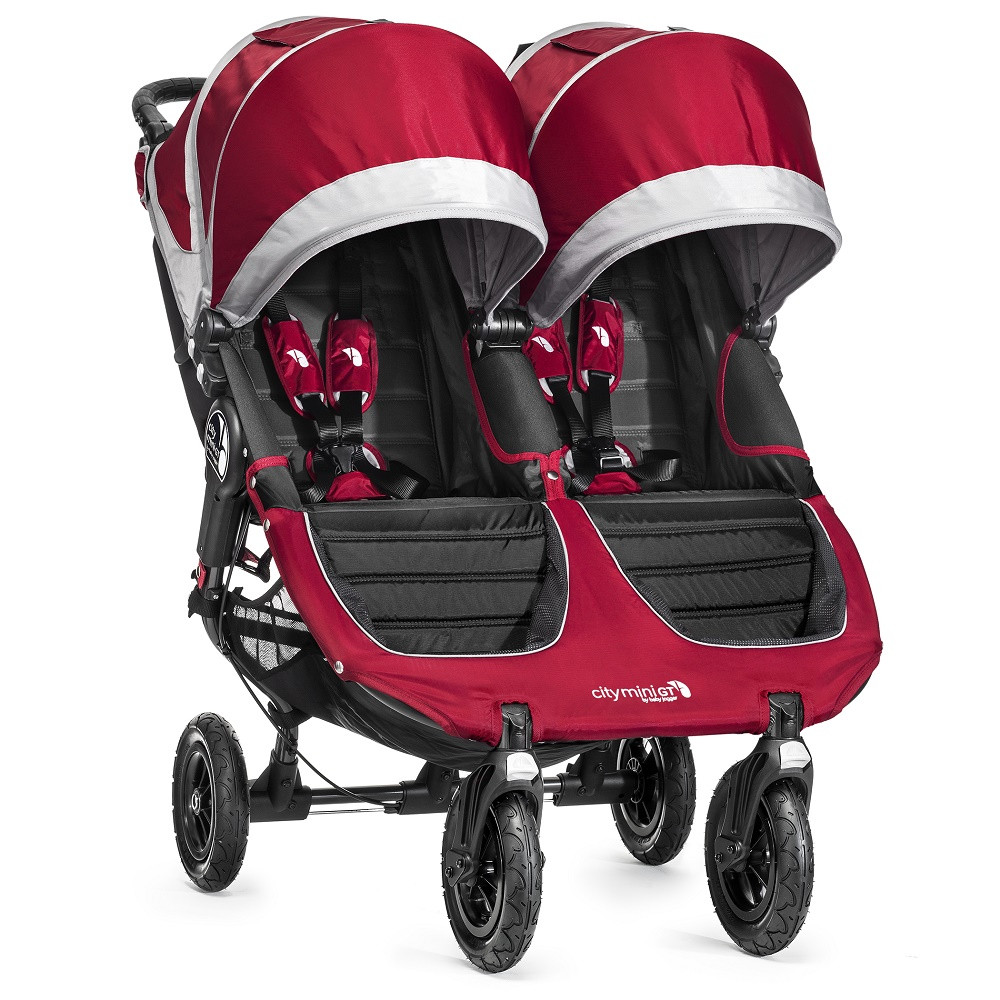 Baby Jogger City Mini GT Double Pushchair (Crimson) Pre-Order now £599 click to visit Babythingz