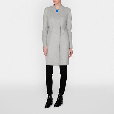 Sandra Grey Cashmere Coat £250 Click to visit LK Bennett