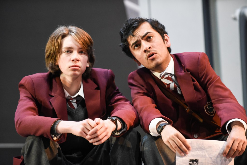Charlie Mills (Ben Trotter) and Yusuf Niazi (Phil Chase)