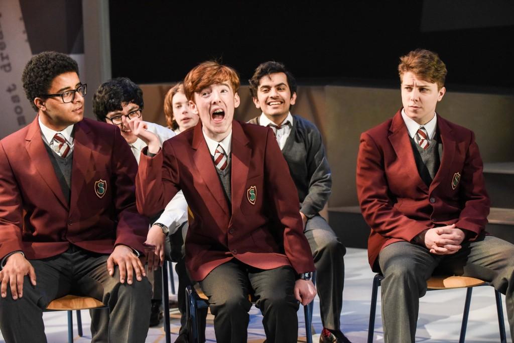 Louis Sutherland (Steve Richards), Haris Myers (Sean Harding) and Andrew Morrin (Culpepper)