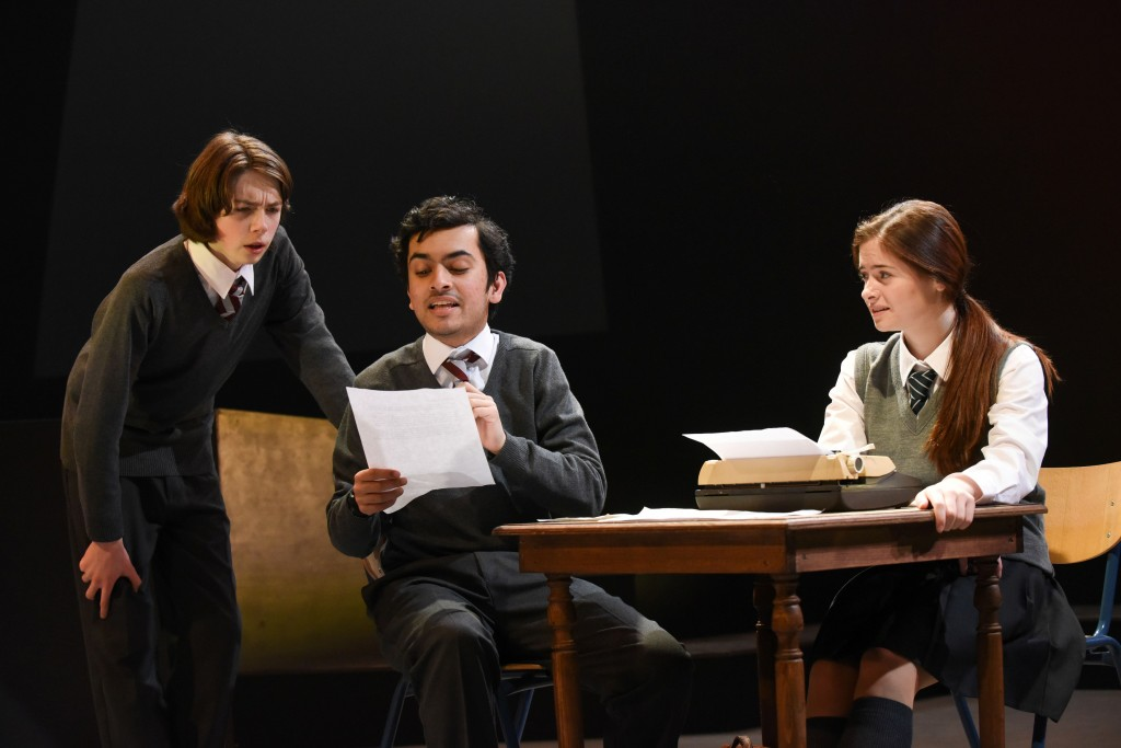 Charlie Mills (Ben Trotter), Yusuf Niazi (Phil Chase) and Anna Bradley (Claire Newman)