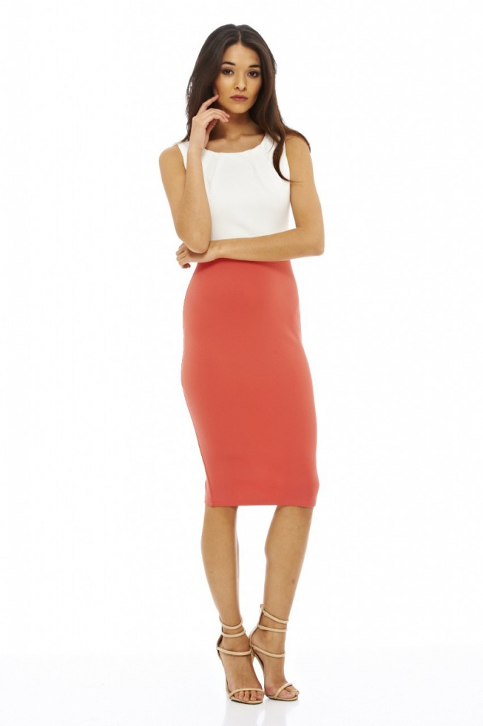 2 in 1 Bodycon Midi Dress Item code: D715CORAL £30.00 Click to visit AX Paris