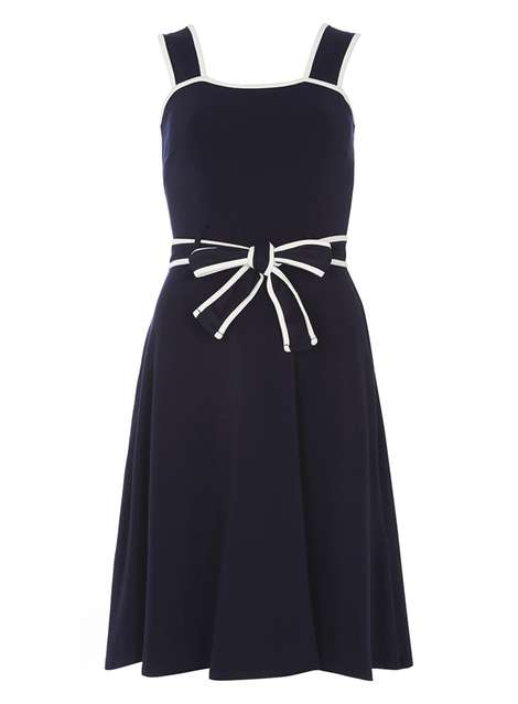 Navy and Ivory sundress Was £18.00 Now £13.50Click to visit Dorothy Perkins