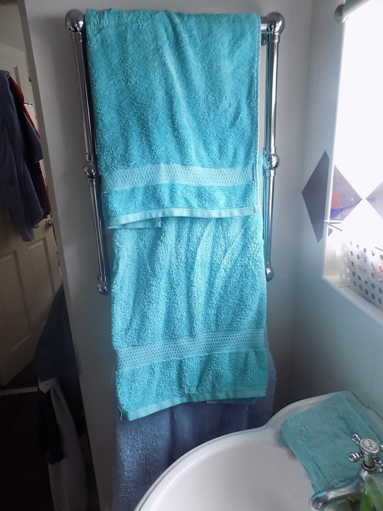 New towels from BHS and Dunhelm