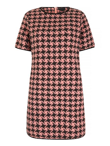 Mela Loves London Houndstooth Print Shift Dress Now £16 Click to visit House of Fraser