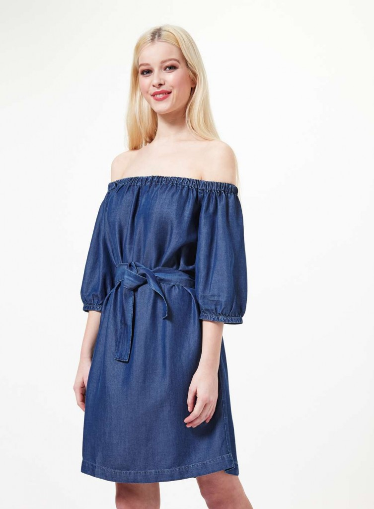 Bardot Belted Denim Dress £39.00 Click to visit Miss Selfridge