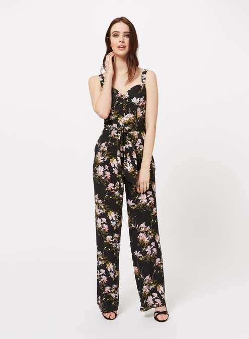 Print Tie Waist Jumpsuit £49.00 Click to visit Miss Selfridge