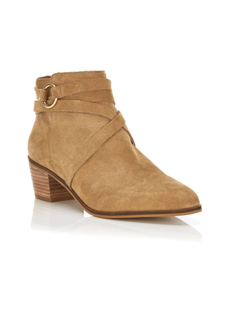 ASTRO point ankle wrap boot £65.00 Click to visit Miss Selfridge