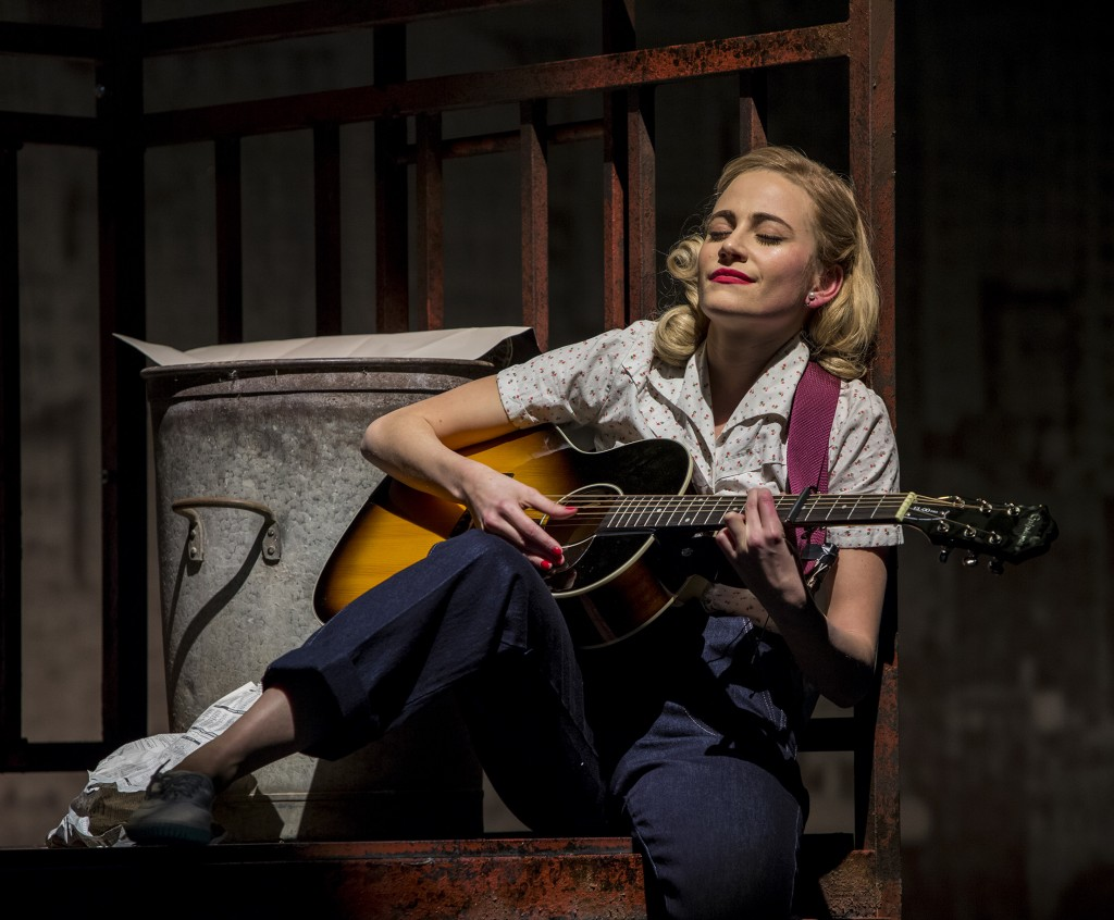Pixie Lott as Holly Golightly in Breakfast at Tiffany's. Credit Sean Ebsworth Barnes (5)