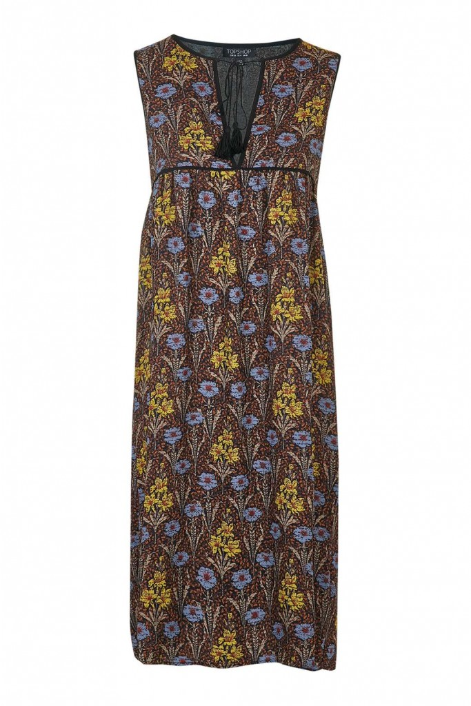 Floral Printed Smock Dress £42.00 Click to visit Topshop