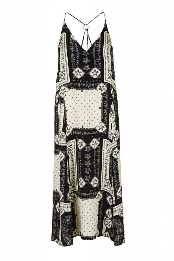 Bandana Print Ring Slip Dress £38.00 Click to visit Topshop