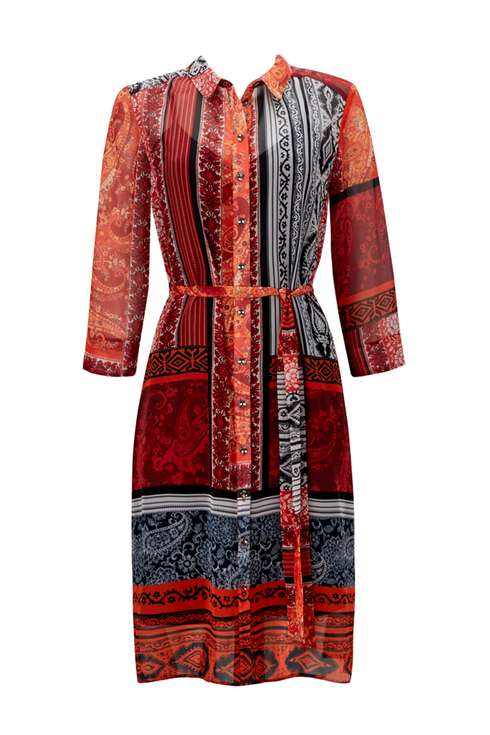 Paisley Printed Shirt Dress Price: £38.00 Click to visit Wallis