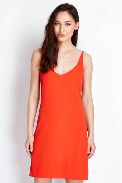 Plain Red Camisole Dress Was £30.00 Now £27.00Click to visit Wallis