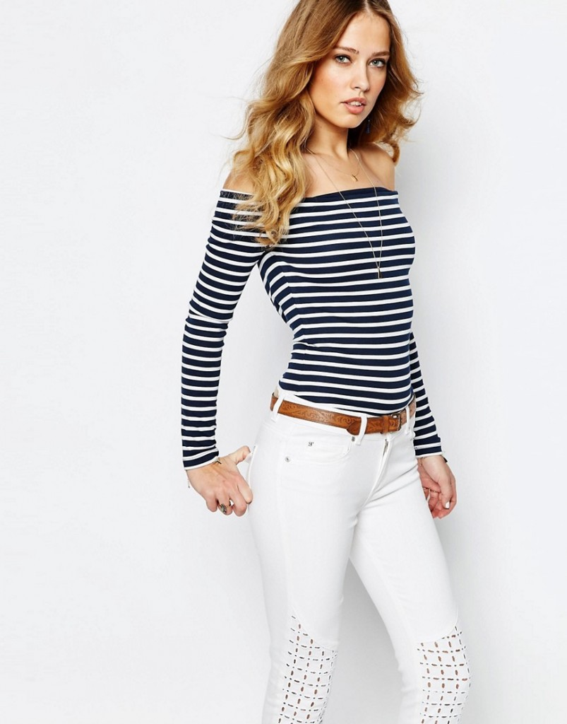 Supertrash Trosha Top in D-Bull Stripe £40.00 Click to visit ASOS
