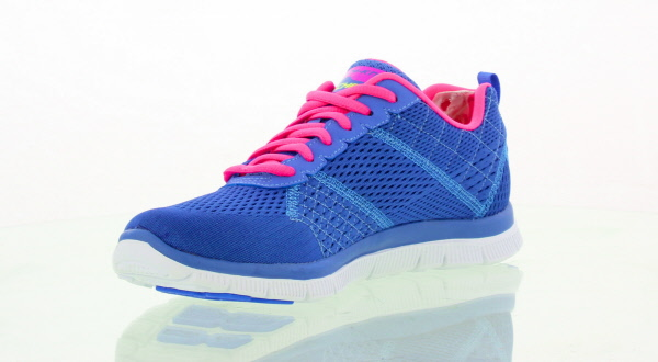 Skechers Womens Flex Appeal Obvious Choice Trainers - Periwinkle Pink £49.99 Click to visit Mastershoe