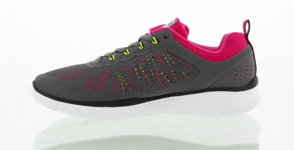 Skechers Womens Equalizer New Milestone Trainers - Charcoal Pink £49.99 Click to visit Mastershoe