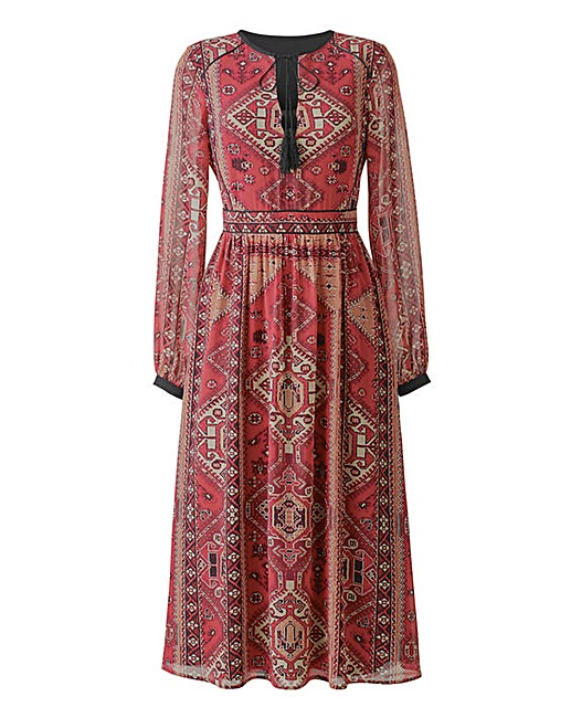 Tapestry Print Boho Dress £27 Click to visit Simply Be