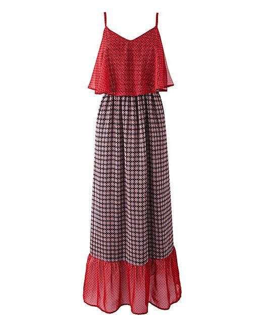 Frill-Hem Maxi Dress £40 Click to visit Simply Be