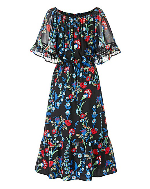 Boho Print Midi Dress £35 Click to visit Simply Be